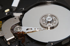Hard disk drive inside Royalty Free Stock Photography