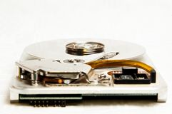 Hard disk drive internal Stock Images