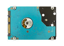 Hard disk. Drive isolated on a white background Stock Photography