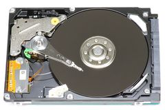 Hard disk drive Stock Image