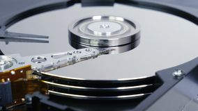 Hard Disk Drive 01 4K stock video footage