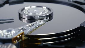 Hard Disk Drive 04 4K stock footage