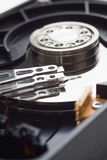 hard disk drive open case Stock Photography