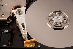 Hard disk drive part of computer Royalty Free Stock Photo