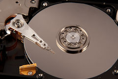 Hard disk drive part of computer Royalty Free Stock Photography