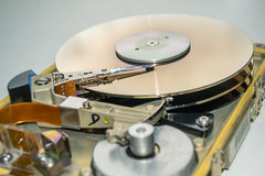Hard disk drive. Personal computer. Hard disk drive without box Royalty Free Stock Image