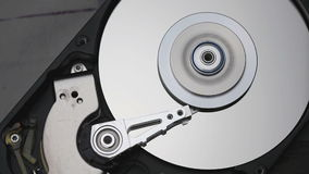 Hard disk drive stock footage