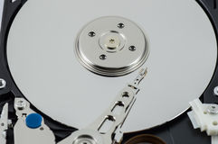 Hard disk drive. Storage devices Royalty Free Stock Images