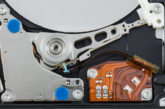 Hard disk drive. Storage devices Stock Image