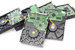 Hard Disk Drives Royalty Free Stock Image