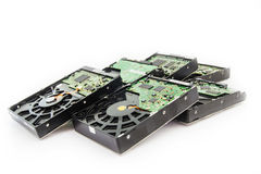 Hard Disk Drives Stock Photo