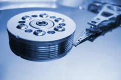 Hard disk hdd stock images