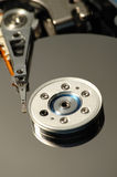 Hard disk head II Royalty Free Stock Photos