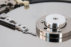 Hard disk. Illustration of Hard disk drive Stock Images