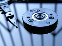 Hard disk inside Royalty Free Stock Images