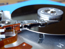 Hard disk inside Stock Photos