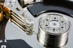 Hard disk inside Royalty Free Stock Photo