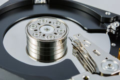Hard disk inside Royalty Free Stock Photography