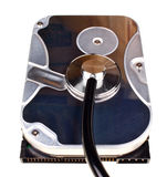 Hard disk isolated Stock Photography