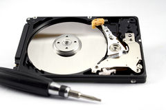 Hard disk Royalty Free Stock Photo
