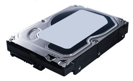 Hard Disk (isolated on white) Royalty Free Stock Photo