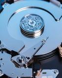 Hard disk memory close-up Royalty Free Stock Image