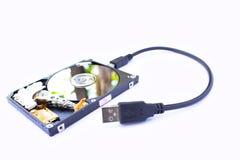 Hard disk Stock Image