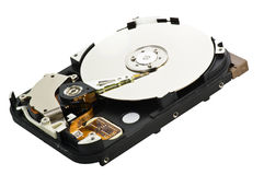 Hard disk open Royalty Free Stock Photo