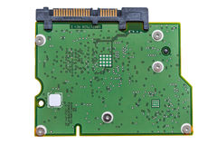 Hard disk PCB. Royalty Free Stock Image