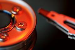 Hard disk Platter Royalty Free Stock Photo
