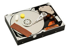 Hard disk recovery concept Royalty Free Stock Images