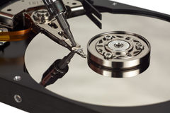 Hard disk repair Stock Photography