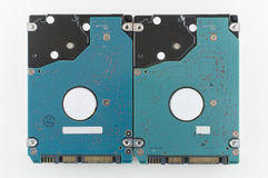 Hard disk sata 2.5 inch Stock Image