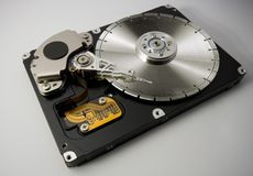 Hard disk saw blade Royalty Free Stock Images