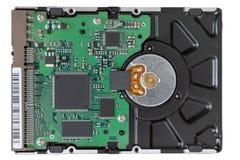 Hard disk on white background stock image