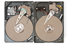 Hard disks Stock Photography