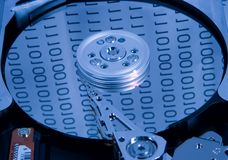 Hard Drive. Hard Disk Royalty Free Stock Photos