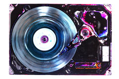 Hard drive abstract Royalty Free Stock Image