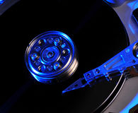 Hard drive abstract Stock Photos