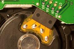 Hard drive closeup Royalty Free Stock Images