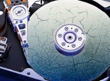 Hard drive computer disk Stock Image