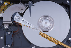 Hard drive data extraction Stock Images