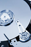 Hard drive detail Royalty Free Stock Photos