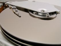 Hard Drive Detail 4 Royalty Free Stock Photos