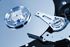 Hard drive detail Stock Photos