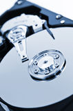 Hard drive detail Stock Images