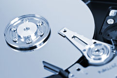 Hard drive detail Stock Image