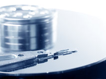 Hard drive details royalty free stock images