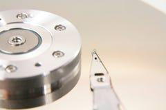 Hard drive details Stock Image