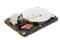 Hard drive disk Royalty Free Stock Photos